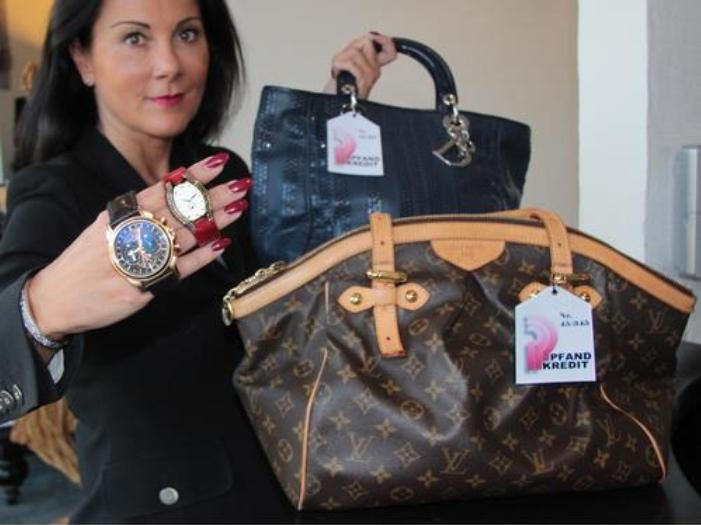 Pfandkredit Mailing Luxustaschen