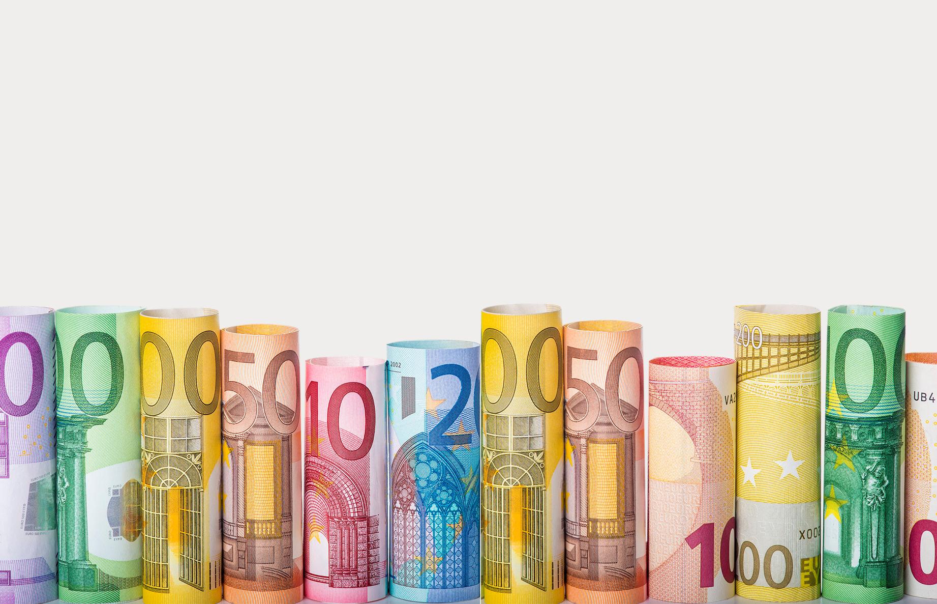 Geldscheine Pfandkredit Pfandverband